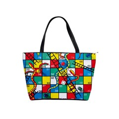 Snakes And Ladders Shoulder Handbags