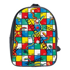Snakes And Ladders School Bags(large)