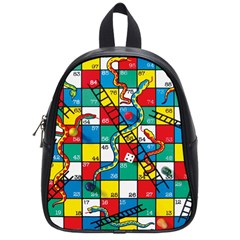 Snakes And Ladders School Bags (small)