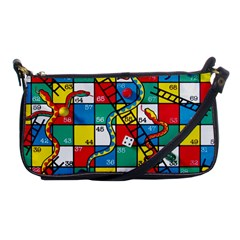 Snakes And Ladders Shoulder Clutch Bags