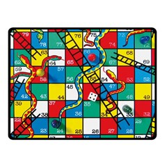 Snakes And Ladders Fleece Blanket (small)
