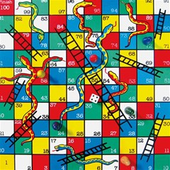Snakes And Ladders Magic Photo Cubes