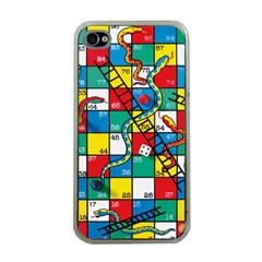 Snakes And Ladders Apple Iphone 4 Case (clear)
