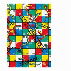 Snakes And Ladders Small Garden Flag (two Sides)