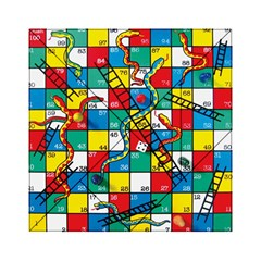 Snakes And Ladders Acrylic Tangram Puzzle (6  X 6 )