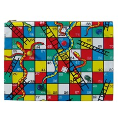 Snakes And Ladders Cosmetic Bag (xxl)