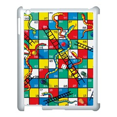 Snakes And Ladders Apple Ipad 3/4 Case (white)
