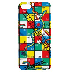 Snakes And Ladders Apple Iphone 5 Hardshell Case With Stand