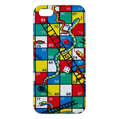 Snakes And Ladders Apple Iphone 5 Premium Hardshell Case