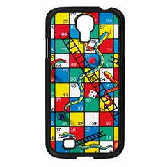 Snakes And Ladders Samsung Galaxy S4 I9500/ I9505 Case (black)