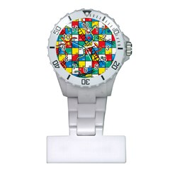 Snakes And Ladders Plastic Nurses Watch