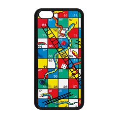 Snakes And Ladders Apple Iphone 5c Seamless Case (black)