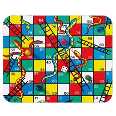Snakes And Ladders Double Sided Flano Blanket (medium)