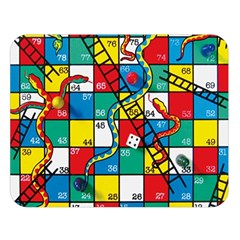 Snakes And Ladders Double Sided Flano Blanket (Large)