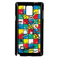 Snakes And Ladders Samsung Galaxy Note 4 Case (black)
