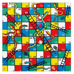 Snakes And Ladders Large Satin Scarf (Square)