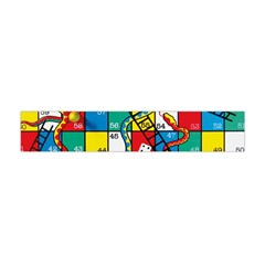 Snakes And Ladders Flano Scarf (mini)