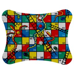 Snakes And Ladders Jigsaw Puzzle Photo Stand (bow)