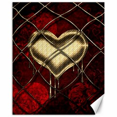 Love Hearth Background Scrapbooking Paper Canvas 16  x 20