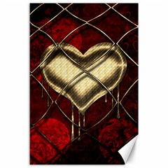 Love Hearth Background Scrapbooking Paper Canvas 24  X 36