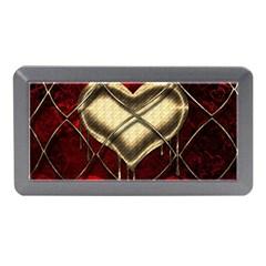 Love Hearth Background Scrapbooking Paper Memory Card Reader (Mini)