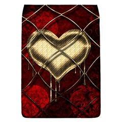 Love Hearth Background Scrapbooking Paper Flap Covers (s)