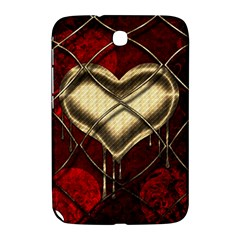 Love Hearth Background Scrapbooking Paper Samsung Galaxy Note 8.0 N5100 Hardshell Case