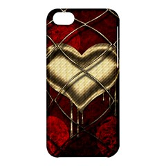 Love Hearth Background Scrapbooking Paper Apple Iphone 5c Hardshell Case