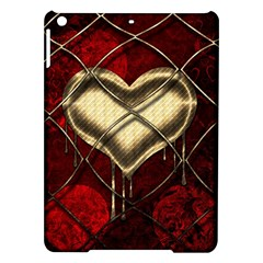 Love Hearth Background Scrapbooking Paper Ipad Air Hardshell Cases