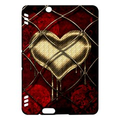 Love Hearth Background Scrapbooking Paper Kindle Fire Hdx Hardshell Case
