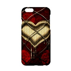 Love Hearth Background Scrapbooking Paper Apple Iphone 6/6s Hardshell Case
