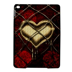 Love Hearth Background Scrapbooking Paper Ipad Air 2 Hardshell Cases