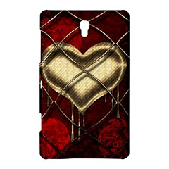 Love Hearth Background Scrapbooking Paper Samsung Galaxy Tab S (8.4 ) Hardshell Case