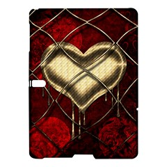 Love Hearth Background Scrapbooking Paper Samsung Galaxy Tab S (10 5 ) Hardshell Case