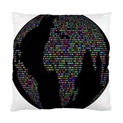 World Earth Planet Globe Map Standard Cushion Case (Two Sides)