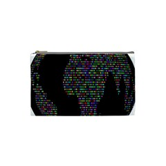 World Earth Planet Globe Map Cosmetic Bag (small)