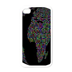 World Earth Planet Globe Map Apple Iphone 4 Case (white)