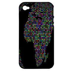 World Earth Planet Globe Map Apple Iphone 4/4s Hardshell Case (pc+silicone)