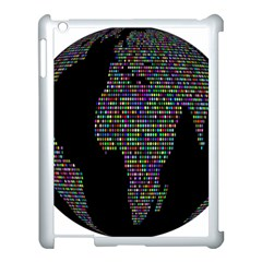 World Earth Planet Globe Map Apple Ipad 3/4 Case (white)