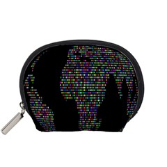 World Earth Planet Globe Map Accessory Pouches (small)