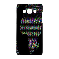 World Earth Planet Globe Map Samsung Galaxy A5 Hardshell Case