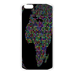 World Earth Planet Globe Map Apple Seamless iPhone 6 Plus/6S Plus Case (Transparent)