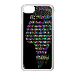 World Earth Planet Globe Map Apple Iphone 7 Seamless Case (white)