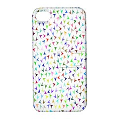 Pointer Direction Arrows Navigation Apple Iphone 4/4s Hardshell Case With Stand