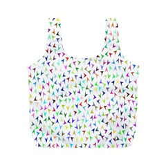 Pointer Direction Arrows Navigation Full Print Recycle Bags (m)