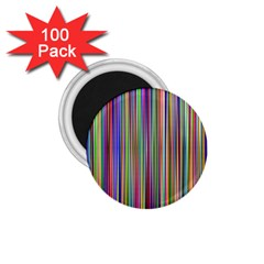 Striped Stripes Abstract Geometric 1 75  Magnets (100 Pack)