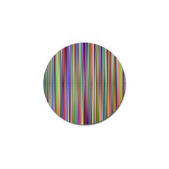 Striped Stripes Abstract Geometric Golf Ball Marker