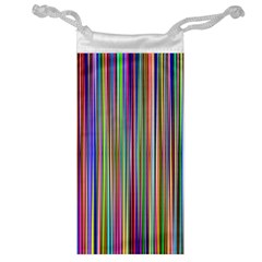Striped Stripes Abstract Geometric Jewelry Bag