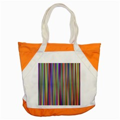 Striped Stripes Abstract Geometric Accent Tote Bag
