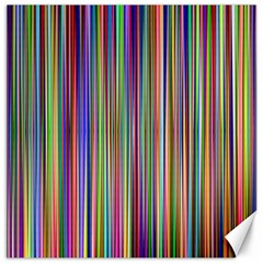 Striped Stripes Abstract Geometric Canvas 12  X 12
